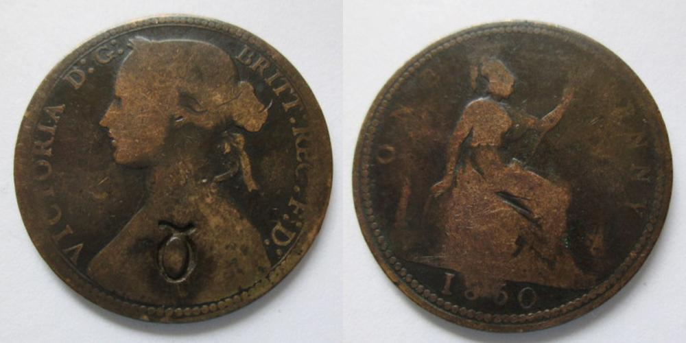 1860 Beaded Penny countermarked Q.jpg
