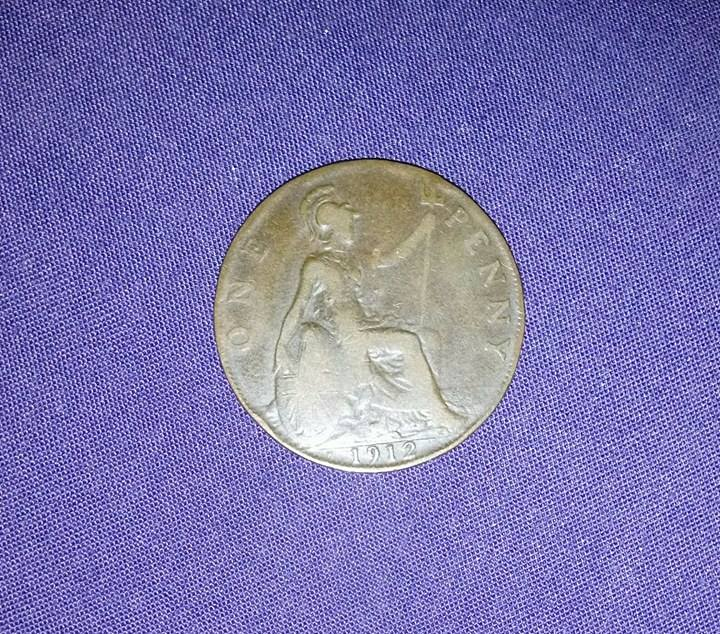 Very Old 1912 Penny - British Coin Related Discussions