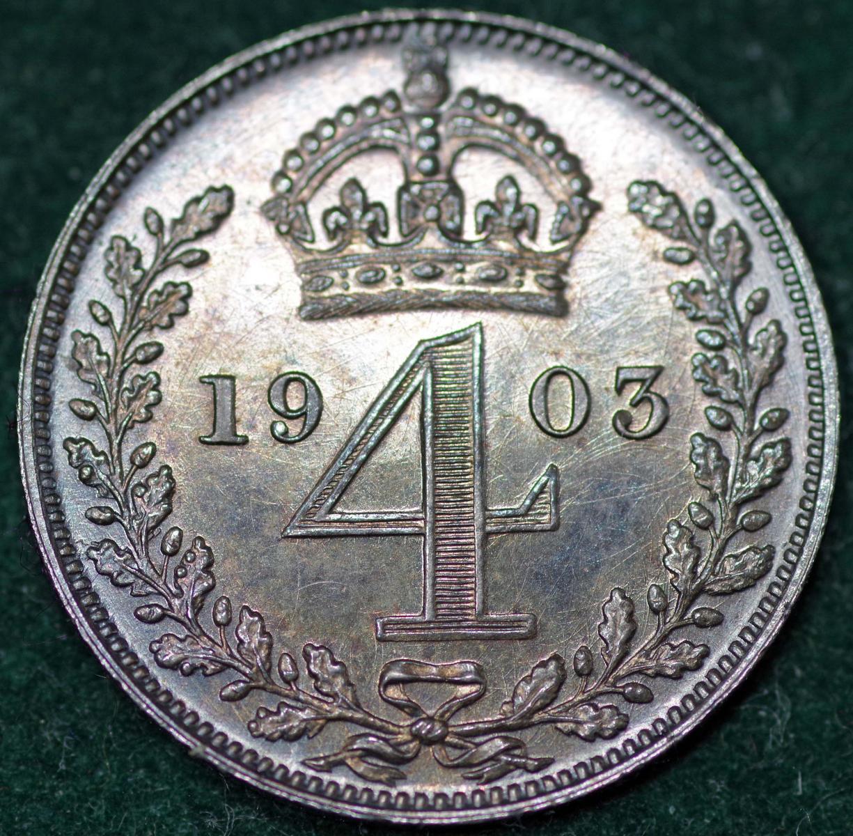 1903 Maundy 4d Rev