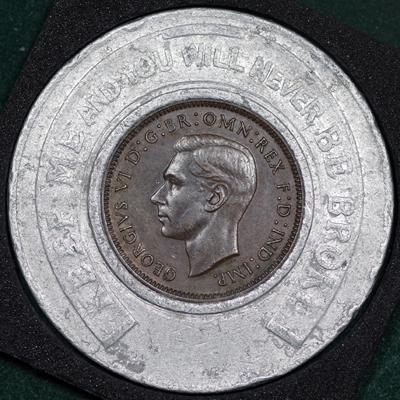 1938 George VI Encased Farthing Hooper Struves Obv.jpg