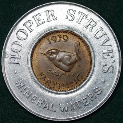 1939 George VI Encased Farthing Hooper Struves Rev 2.jpg