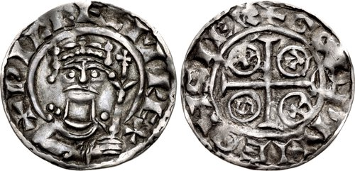 William I penny, type VIII, Godwine on Salisbury.jpg