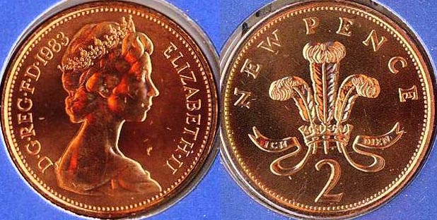 1983  mule coin- common type shows two pence not new pence.JPG