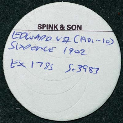 1902 Victoria Sixpence Spinks Ticket.jpg