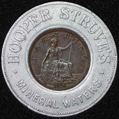 1928 George V Encased Farthing Hooper Struves Rev 400.jpg