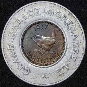 1937 George VI Encased Farthing Grand Garage Morecambe Ltd Rev 400.jpg
