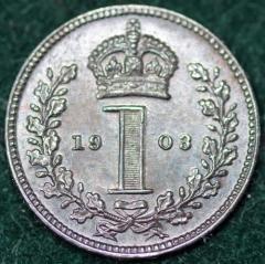 1903 Maundy 1d Rev
