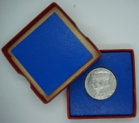 1935 Silver Jubilee boxed medal