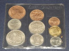 1953 Official Queens Coronation 9 coin set