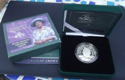 Crown 2000 (£5) Silver Piedfort