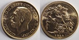 Sovereign 1918I UNC REDUCED