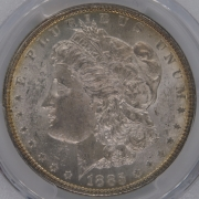 1885 US Dollar PCGS MS62