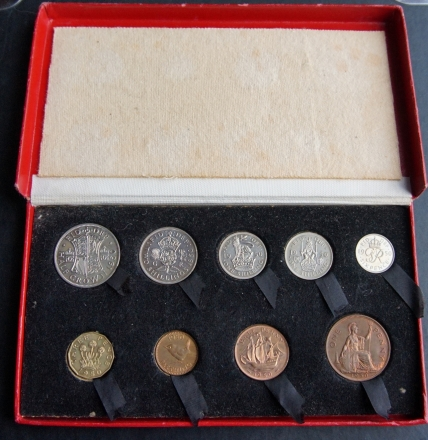 1950 Boxed Proof Set