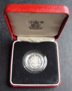 One Pound 1983 Silver proof