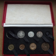 1950 Boxed Proof Set (missing 2)