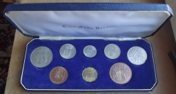 1964 Cased Coin Set