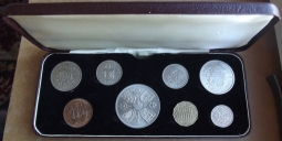 1960 Cased Coin Set