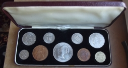 1965 Cased Coin Set