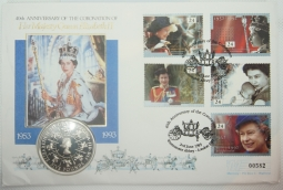 Crown 1993 (£5) Proof in FDC
