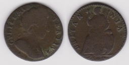 Farthing 1700 Fair R/B Unlisted REDUCED