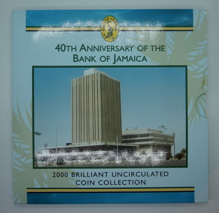 Royal Mint Jamaica 2000 BU Set