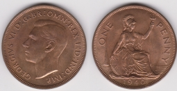 Penny 1940 Ch.UNC