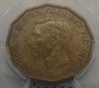 Threepence 1946 AUNC (MS63)